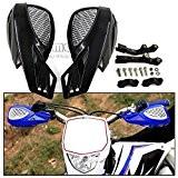 Noir 7/20,3cm 22mm ATV Accessoires Moto KTM Barre de brosse à la main Guards sécuritaire pour KTM Honda Kawasaki Suzuki ...
