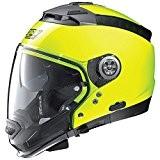 Nolan N44Evo Hi-Visibility Casque de moto modulaire Lexan N-COMJaune fluo