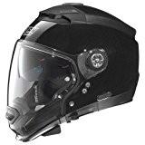 Nolan N44Evo Special Casque moto modulaire Lexan N-COM, métal noir