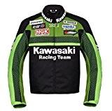 Officiel Kawasaki Racing Textile Moto Veste (L (EU52-54))