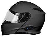 Origine helmets 204271723600006Delta Solid médaillon Matt Casque avec Bluetooth intégré, titane, XL