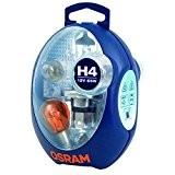 OSRAM Minibox H4 coffret de secours +5 lampes auxiliaires +3 fusibles