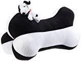 Ototop 92006 Snoopy Coussin Os, Blanc/Noir