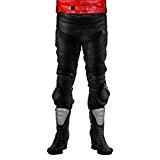 Pantalon lemoko cuir avec knieschleifern couleur :  noir ou noir/weißGr. taille s à 4XL