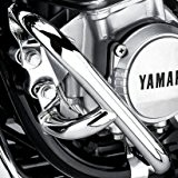 Pare Carter Fehling Yamaha XJR 1200/1300 95-14 argent