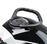 Poignée Passager Yamaha Fazer 8 (FZ8 Fazer) 10-16 Puig A-Sider noir