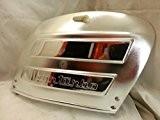 Portière moteur en plastique chromé avec grille d'aération Pour Piaggio Vespa Special 50ET3