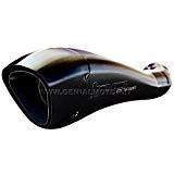 Pot D'Echappement Double Hp Corse Hydroform Noir Triumph Street Triple 2007/2015