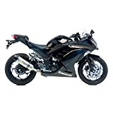 Pot d'échappement LeoVince LV One 8740, Slip-On Evo2 Acier pour Kawasaki Ninja 300 EX300A | Kawasaki Z 300 ABS