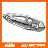 PROTECTION COLLECTEUR ECHAPPEMENT UNIVERSEL 4 TEMPS KTM EXC-F XC SX 250 350 450 500 505 525 SCAR