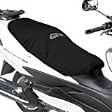 Protection de Selle Piaggio Xevo 125 Givi S210 pour Scooter Noir