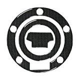 Protege Bouchons Reservoirs Moto Carbone Look Autocollant Yamaha Adhesif carbone