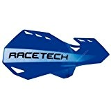 RACETECH - Protèges Mains Dual Moto Cross bleu