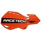 RACETECH - Protèges Mains Dual Moto Cross orange