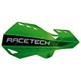 RACETECH - Protèges Mains Dual Moto Cross vert