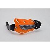 RACETECH - Protèges Mains Intégraux FLX Alu spécial QUAD orange