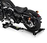 Rail de Rangement pour Harley Davidson Sportster 883 Iron (XL 883 N) ConStands M3 noir réglable