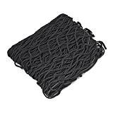 Relaxdays 10018125 Filet Elastique pour Remorque de 100x130 cm inclus Matériel de Fixation, Noir