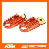 REPOSE CALE PIED STANDARD KTM 50 65 150 250 350 450 SX SXF SX-F EXC EXC-F ORANGE SCAR