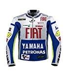 Rossi Yamaha Racing Textile Veste ((M (EU50)))