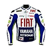 Rossi Yamaha Racing Veste en cuir (L (EU52-54))