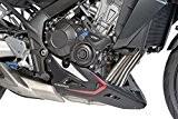 Sabot moteur Puig Honda CB 650 F 14-16 noir mat