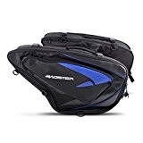 Sacoches Cavalières Yamaha XSR 900/ Abarth Bagster Sprint 5812E 21-30 litres bleu