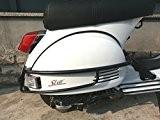 salvascocca arrière noir pour Piaggio Vespa PX LML Star 125/150/151/200