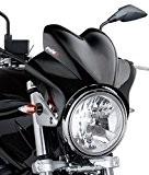Saute vent Puig Wave noir pour Suzuki Bandit 600/ 1200, GN 125/ 250, GS 500/ E, GSX 750/ 1200/ 1400, ...