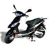 Scooter neuf JORDON 50 cc YY50QT Noir - moteur 4 Temps