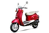 Scooter RETRO 50 Rouge - ZN50QT-A