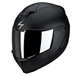 Scorpion Pump Up Exo 910 Air Matt Black Flip casque de moto