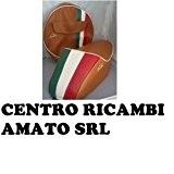 Selle Marron avec bosse tricolore + bâches Marron Vespa 50Special L R N