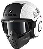 Shark Drak/Raw casque de moto à visage ouvert avec lunettes-Hommage RM Wvs