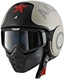 Shark Drak/Raw casque de moto à visage ouvert avec lunettes-Soyouz Tapis d'oreille
