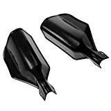 Sharplace universel 22mm 7/20,3cm Moto Scooter Guidon Protège-mains protection gardes Brosse Noir