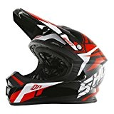 SHOT RACE GEAR - Casque cross Shot FURIOUS SQUAD ROUGE - SHOT 2017 59/60 =L