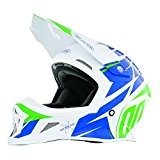 SHOT RACE GEAR - Casque cross Shot STRIKER EXOD BLEU VERT - SHOT 2017 bleu 57/58 =M