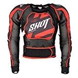 SHOT RACE GEAR - Gilet de protection cross Shot AIRLIGHT MEMORY NOIR - SHOT L