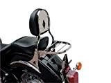 Sissy bar moto Kawasaki EN500 Classic années de 1996 à 2002,N' Inclut pas porte paquet