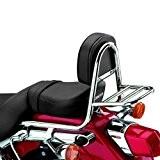 Sissy Bar + porte paquet Fehling Honda Shadow VT 125 C 99-09