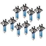 Sonline 10X H7 AMPOULE LAMPE PHARE BLANC 12V 100W POUR VOITURE