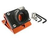 Spacer d'aspiration STAGE6R/T pour PWK carburateur Minarelli Orange