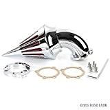 speedmotor Chromé Spike Air d'admission Filtre pour Harley S & S Evo CV Custom Sportster x