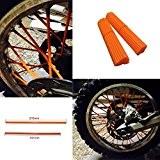 spoke Skin Boleros, costume, Fourrures, vélos de la saleté de couvertures-SOLO Couleur-80bidirectionnelle pour vélo rayons de cuir KTM 150, Kawasaki ...