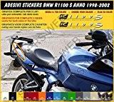 Stickers BMW R1100S (année 1998-2002) Kit carénage réplique compatible Cod. 0306
