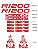 Stickers pour Moto BMW R 1200GS Motorrad Dakar Adventure