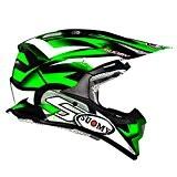Suomy Casque Moto Cross Alpha Bike, Vert (Bike), M