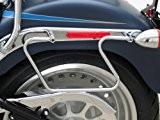 Support Ecarteurs de Sacoches cavalières Fehling Harley Davidson Fat Boy (FLSTF) 00-16