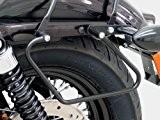 Support Ecarteurs de Sacoches cavalières Fehling pour Harley Davidson Sportster 883 Iron (XL 883 N) 09-16 - noir
